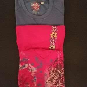 Other - GIRLS SET OF 3 TOPS-Sizes 7-8